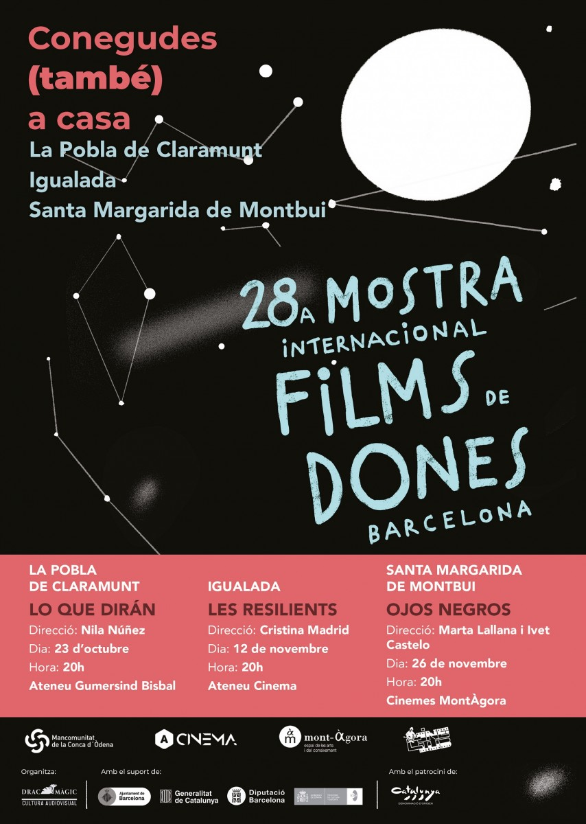Cartell MOSTRA FILMS DONES 2020